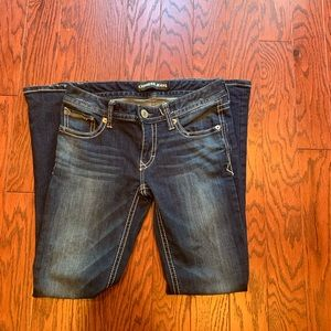 Express Boot Stella Low Rise Jeans SZ 4 Short